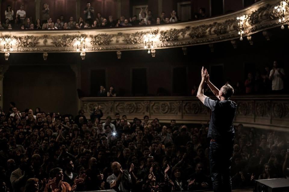 Pedro Aznar EurekaPOP Teatro el Círculo Septiembre 2015